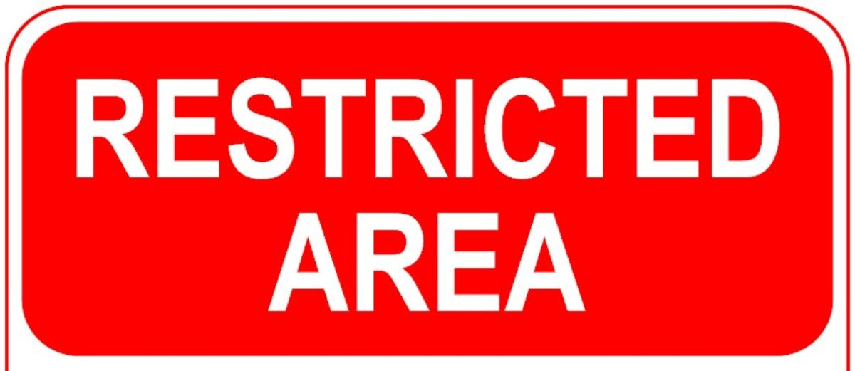 RESTRICTED SITE